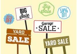 sale signs printable printable yard sale signs free vector art 15848 free downloads