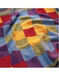 Patchwork Blanket Pattern - Knitting Patterns and Crochet Patterns ... & Patchwork Blanket Pattern Adamdwight.com
