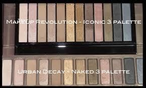 makeup revolution iconic eyeshadow palettes