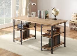 rustic office desk. Homelegance Factory Writing Desk - Rustic Brown Office N