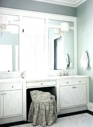 double vanity with makeup area. Best Makeup Counter Ideas On Master Bath Vanity And For Contemporary Household Bathroom Vanities With Table In Double Area