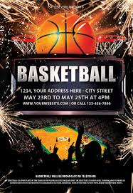 basketball training flyer template basketball psd flyer template free basketball psd templates and