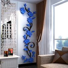 hot 3d mirror wall stickers e flower vase acrylic decal home diy art decor last reviews leading reviews inspirations ping ideas