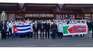 Exhibe brigada médica cubana resultados muy positivos en Italia