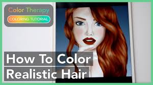 Get it today at iphone and ipad, for free on please read carefully: Coloring Tutorial How To Color Hyper Realistic Hair With Color Therapy App Youtube
