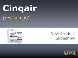 Cinqair Dosing Chart New Drug Product Cinqair Mpr