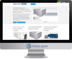 Kitchen Exhaust System Design Responsive Data Base Driven Web Site Development Baltimore Maryland