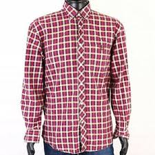 Details About R Henri Lloyd Mens Shirt Tailored Checks Size L
