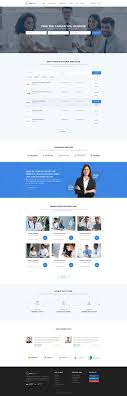 17 best ideas about job portal website layout food corporate website design