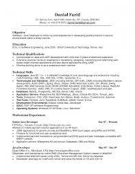 Resume Sample Java J2ee Developer Resumes In Usa 3 Years Experience
