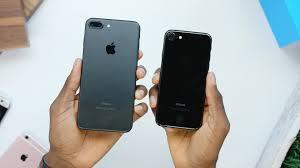 apple iphone 7 black vs jet black. apple iphone 7 black vs jet h