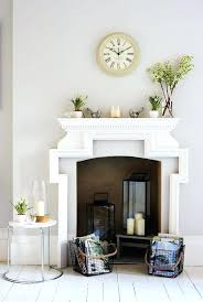 decorative fireplace inserts for electric mantel