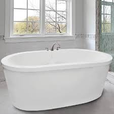 free standing jetted soaking tub. oval freestanding tub with flat rim free standing jetted soaking