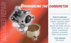 Overhauling the Carburetor | Search | Frequently Asked Questions ...