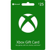 xbox gift card 25 free
