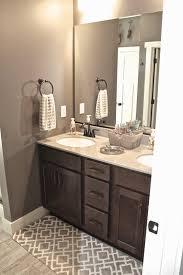 My Bathroom Colors For The Walls Trim And Cabinet Grey Walls - Trim around bathroom mirror