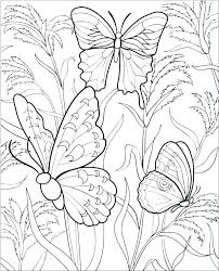 Printable Coloring Pages Of Flowers And Butterflies Printable Coloring Pages Of Butterflies Coloring Pages