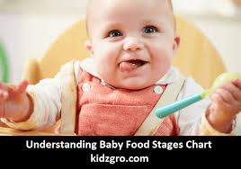 Baby Food Stages Chart Understanding Baby Food Stages Chart Kidzgro