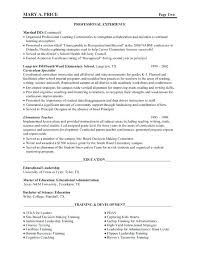 School Principal Resume Samples School Administrator Resume Samples
