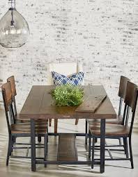 industrial kitchen table furniture. Magnolia Home Framework Dining Table With Planter Industrial-dining-room Industrial Kitchen Furniture