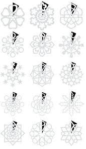 Snowflake Cutout Template Frozen Snowflake Templates 3d Snowflake