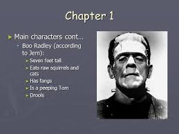 to kill a mockingbird by harper lee ppt video online chapter 1 main characters cont boo radley according to jem