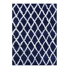 couristan couristan urban temara navy blue white area rug lowe s canada