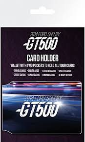 The ford credit card is different than ford credit, or the ford motor credit company llc that finances and leases vehicles, as the card is currently offered through citi. Amazon Com 1art1 Cars Credit Card Holder Wallet For Fans Collectible Ford Shelby Gt500 4 X 3 Inches Home Kitchen
