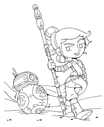 Star Wars Coloring Pages The Last Jedi Download