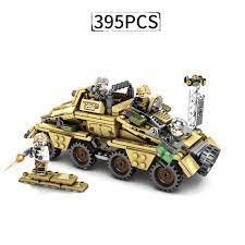 Bộ Đồ Chơi Lắp Ráp Lego Phong Cách Quân Đội Độc Đáo
