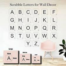 vinyl letter scrabble wall art decals