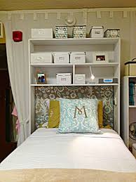 headboard storage rack. Dorm Room Hacks And Tips Consider Skipping Headboard Make Shelves For Additional Storage More College On Frugal Coupon Living Throughout Rack