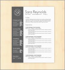 Free Creative Resume Templates Microsoft Word Great Creative Resume