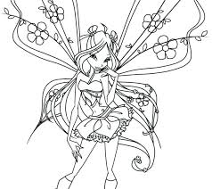 Coloring Fairy Coloring Pages For Adults