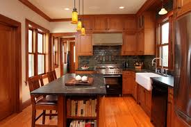 Craftsman style pendant lighting Spanish Colonial Craftsman Kitchen Design What Is Typical For The Craftsman Style Craftsman Style Kitchen Wood Glaucocu Stodio Craftsman Style Kitchen Wood Flooring Kitchen Island With Seating