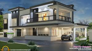 elegant modern home design plans india 10