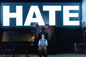 same fears different century stage adaptation of orwell s 1984 matthew spencer as winston smith in a r t s 1984 courtesy manuel