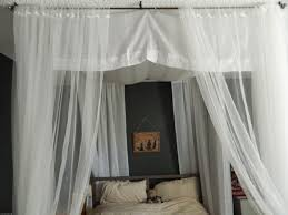 Maroon Curtains For Bedroom Simple White Leather Canopy Bed Frame With Maroon Shher Curtain