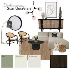 Contemporary Scandinavian Interior Design Mood Board by Alyssa Hunt | Style  Sourcebook