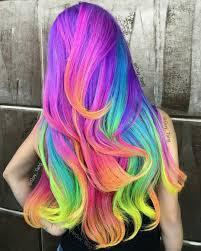 Hair Dye Neon Unicorn Rainbow By