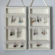 jewelry organizer for wall jewelry rack wall mount
