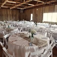 round wedding table decoration
