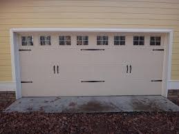 garage door decorative hardware carriage