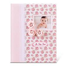 Baby Photo Album Book Baby Memory Book Milestone Journal For Babies Classic Design For Baby Girl First 5 Years