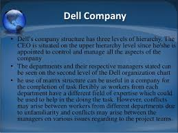 Dell Hierarchy Chart Companies Structure