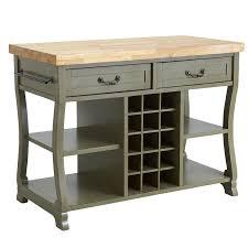 Kitchen Island Furniture Marchella Sage Kitchen Island Pier 1 Imports