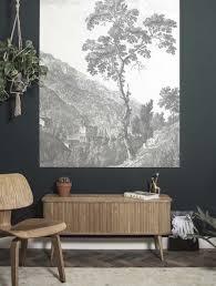 Kek Amsterdam Wonderwalls Behangpaneel Engraved Tree 1425x180 Cm