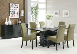 modern dining table design with glass top dining room modern dining room furniture elegant glass top