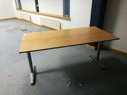 long office table. office desk table adjustable height 160cm 62 inches long x 80cm long office table