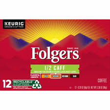 Carnation half and half liquid creamer singles, 180 count. Jay C Food Stores Folgers Half Caff Coffee K Cup Pods 12 Count 3 88 Oz